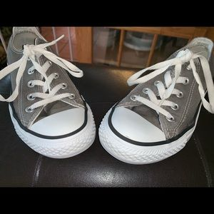 Converse All Star Low Top Gray Sneakers